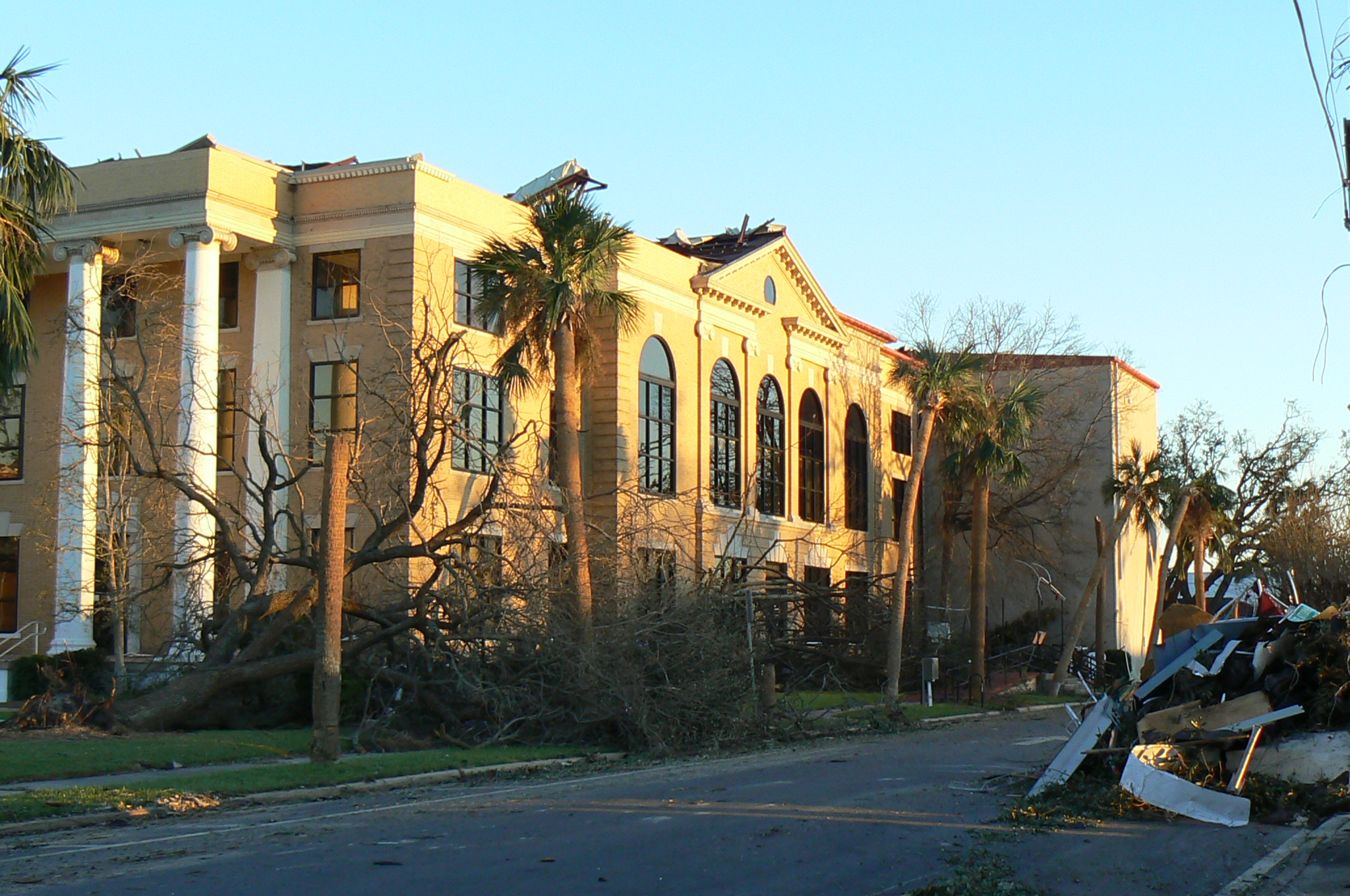 Bay County Courthouse in Panama City, Florida